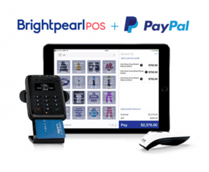 PayPal Point of Sale Brightpearl Retail POS System