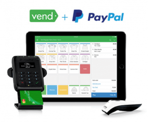 PayPal Point of Sale Vend Retail POS System