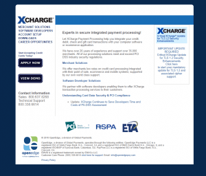 XCharge Sales
